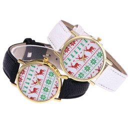 Glasses Fast Australia - Hot Fast Shipping Christmas Fashion Lady Quartz Glass Mirror Round Watch Leather Strap Hook Buckle Watches Christmas Present #20