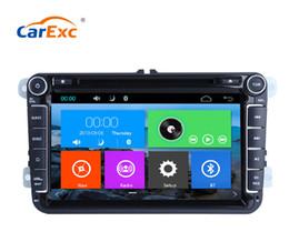 Vw Car Antenna NZ - Car Multimedia Player GPS 2 Din For VW POLO PASSAT B6 golf 5  Octavia SEAT LEON Radio Capacitive Touch Screen DVD SD USB
