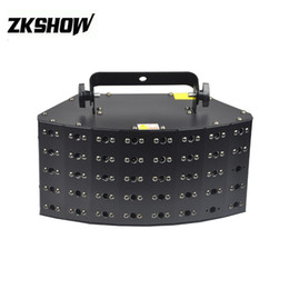 Wholesale Equipo De Musica W LED Laser Animation Light DMX512 DJ Disco Party Wedding Bar Club Bar Dance LED Stage Lighting Fixture