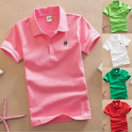 $enCountryForm.capitalKeyWord Australia - Black Baby Boys Polo Shirts Children Polo's Tops Sleeve Baby Boy Clothes 100% Cotton T-Shirts Kids Jersey Tees Outfits 8 Colors
