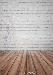 $enCountryForm.capitalKeyWord NZ - White Brick Wall 5X7ft Children Wedding Baby Photo Vinyl Backgrounds Photography for Photo Studio Backdrop 9685