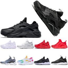 Chinese  Cheap Men sport Huarache ultra run Running Shoes For Men Women 4 White Black Red Sneakers athletic mens walking Shoes chaussure drop shiping manufacturers
