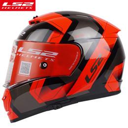 df22ab8d LS2 FF390 Breaker full face motorcycle helmet dual lens racing helmet with  anti-fog pinlock 100% original LS2 moto helmets