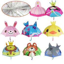$enCountryForm.capitalKeyWord NZ - Lovely 8K Design children Umbrella High Quality Multi Styles Optional Function 3D baby umbrella children Cartoon umbrella T3I0378