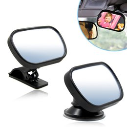 Baby View Mirror Car NZ - Rearview Baby Mirror Rear Facing Car Back Seat Mirrors Headrest Mount 360 Degree Rotation Adjustable Car Baby Rear View Safety Convex