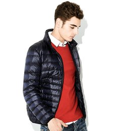 young clothes 2019 - MRMT 2018 Brand Winter New Men's Jackets Light Down Short Young for Male Vertical Collar Large Size Down Jacket Clo
