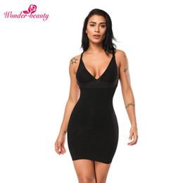 525c78875ae8 Women Shapewear Dress Canada - Wonder-Beauty Women Slimming Shapewear Sexy Wedding  Bodysuit Firm Control