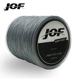 super pe braid 2019 - JOF 100m Braided Multifilament Super Power PE Fishing Line Rope The Peche Spearfishing Cord Wire Peche Carp Thread 4 dis