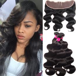 $enCountryForm.capitalKeyWord Canada - 8A Brazilian Virgin Hair 3 Bundles With 13X4 Lace Closure Unprocessed 8A Virgin Hair Natural Black Brazilian Peruvian Malaysian Human Hair