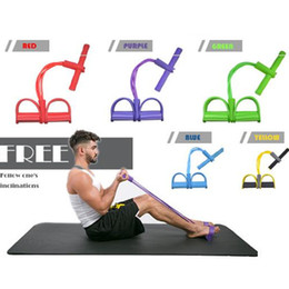 $enCountryForm.capitalKeyWord NZ - 2018 New Gym Fitness Yoga Foot Pedal Pull Rope Tube Equipment Tool Gym Resistance Bands Fitness Exercise Pull Rope Fitness Equipments