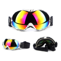 ski snowboard sunglasses 2019 - cycle zone 2018 New Ski Snowboard Motorcycle Dustproof Sunglasses Goggles 18.3x9x5cm Lens Frame EyeSuper Anti-Fog Glasse