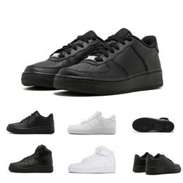 brand new 2aef8 60ff0 Nike Air Force 1 one 36-45 Marca de fábrica barata One 1 Dunk Flyline  Zapatos para correr Mujeres Hombres Negro Blanco Corte escotada Alta  Patinaje ...