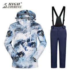 $enCountryForm.capitalKeyWord Australia - HIGH EXP high kids Ski Suit, Mountaineering Suits, Warm Clothes, Windproof, Waterproof, Breathable 2018 Girls, Boys, Ski Suits,