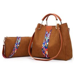 New packagiNg products online shopping - Genuine leather Female bag New product women cowhide Oblique cross package tassel Mother and child package