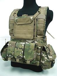 Combat vests online shopping - Outdoor Tactical Vests Airsoft Molle Canteen Hydration Combat RRV Water Bag Vest Multicam