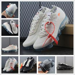 5b326840e086 Vapormax 2018 Mens Running Shoes For Trainers Women Sports Shoes New Vapor  Wave Male Shoe Black Triple White Female Designer shoes