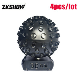Free magic ball online shopping - Best Sales W RGBWA UV in1 LED Magic Ball V V DMX Control DJ Disco KTV Bar Club Party Wedding Stage Equipment
