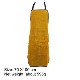 $enCountryForm.capitalKeyWord Canada - Special Protection Workwear Clothe Argon-arc Welding Leather Apron Workplace Safety Clothing Self Protect Aprons