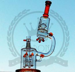 $enCountryForm.capitalKeyWord Australia - glass matrix color microscope glass bong splash guard rockets Percolator color pink water pipe Such an intricate double
