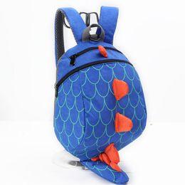 $enCountryForm.capitalKeyWord UK - New 3D Cartoon Dinosaur Baby Toddler Anti lost Leash Harness Strap Walker Baby Lunch Bag Kindergarten Schoolbag Backpacks