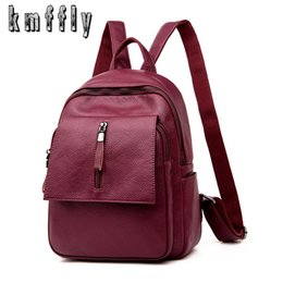 korean style woman back pack leather backpacks for teenage girls mochilas  mujer 2018 luxury school bags sac a dos femmes dd80fdd27a7cb