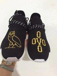 Men women Human Race OVO x Hu NMD Running Shoes. Fashion girls summer lightweight sport sneakers cheap exclusive under 70 dollars online shop from china xsfHFfr5qy