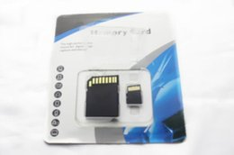 China 50pcs lot DHL 64GB Class 10 Micro SD TF Memory Card with SD GIFT Adapter Retail Package Flash SD SDHC Cards cheap micro sdhc flash memory card suppliers