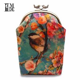 Vintage Ladies Handbags NZ - 2018 Art Design Silk Women's Shoulder Bags Vintage Ladies Evening Party Banquet Bag Female Clutch Women Mini Chain Handbags