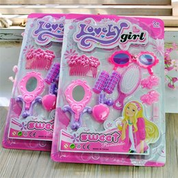 Ornament dresses online shopping - Simulation Ornaments Suit Plastic Pretty Baby Puzzle Doll Accessories Creative Makeup Toys Lovely Girl Children Dressing Hot Sale kb V