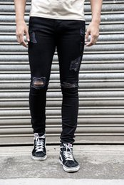 e4bb7c69341 Cotton Jean Men s Pants Vintage Hole Cool Trousers for Guys 2018 Summer Europe  America Style Plus Size 3XL ripped jeans men