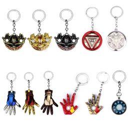 $enCountryForm.capitalKeyWord Australia - Hot Sale Jewelry Iron Man Keychain  Infinity War Iron Man Hand Key Chain for Women Men Movie Jewelry Dropshipping