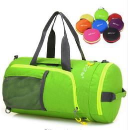 $enCountryForm.capitalKeyWord Canada - Outdoor Multifunction Waterproof Nylon Unisex Camping Sports Bags Folding Knapsack Packsack Shoulder Bags Travel Hiking Bags