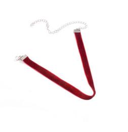 $enCountryForm.capitalKeyWord UK - Europe and America Necklace Jewelry Fashion Joker Child Necklace Short Velvet Necklace