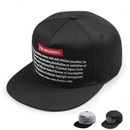 65b776fc030 Brand Baseball Cap Men Snapback Cap Hat Women FBI WARNING Base Ball Hat For  Men Casquette Bone Sports Cap Sun Hat