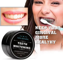 Health Care Teeth Whitening Scaling Powder Oral Hygiene Cleaning Activated Bamboo Charcoal Powder on Sale
