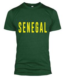 Woman Fans Australia - Senegal Text T Shirt Slogan Fan Football World Cup Top Men Women Kid 2018 L254Funny free shipping Unisex Casual tee gift