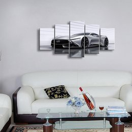 Art Canvas Prints Australia - 5 pieces high-definition print car canvas oil painting poster and wall art living room picture C5-1
