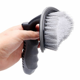 Wholesale Dust Remove Car Tire Wheel Cleaning Washing Tools Car Tyre Brush Duster Scrub Car Wash Auto Care Detailing High Quality