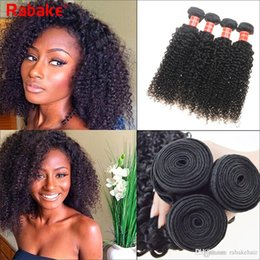 peruvian kinky curls hair 2019 - Rabake Malaysian Curly Human Hair Weaves 100% Virgin Unprocessed 8A Brazilian Malaysian Jerry Kinky Curls Hair Extension