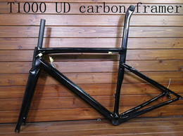 Carbon raCing biCyCles online shopping - 2018 T1000 UD new carbon road bike frame carbon bicycle racing frameset light weight size cm can be ship by XDB TM006