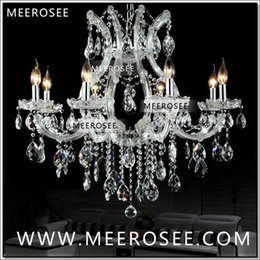 Chandeliers Australia - Hot selling Maria Theresa Clear Crystal Chandelier Lamp Luster Cristal Pendelleuchte Light Fixture top quality 8 Lights