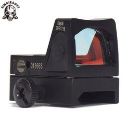 Опт Sinairsoft красная точка прицел тактический регулируемый Sightscope с Trijicon стиль мини-зеркало для пистолета прицел Пикатинни прицелы