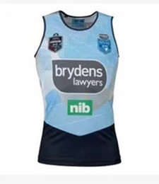 Chinese  Hot sales Welsh holden nswrl 2018 2019 NRL National Rugby League Nsw origins Rugby jersey NSWRL Holton Jerseys shirt Size S-3xLLAN hall vest manufacturers