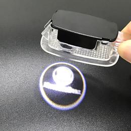 Mercedes Light Logo Australia - Easy Installation Car Door LED Logo Projector Lights Symbol Emblem Courtesy Step Lights For Mercedes Benz S Class AMG W204 W212
