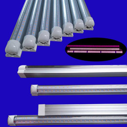 $enCountryForm.capitalKeyWord NZ - LED Grow Lights T8 Tube Full Spectrum LED Grow Plant Lamps Red 660nm Blue 460nm For Greenhouse Hydroponics Vegetable Flowers double row T8