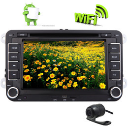 Vw Stereos Android Australia - Android 6.0 Car DVD Player Stereo Autoradio Double Din GPS Navigation 7'' Touchscreen Mirrorlink WiFi for VW PASSAT CC PASSAT Golf