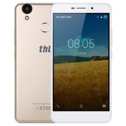 online shopping Original THL T9 Pro G LTE Cell Phone GB RAM GB ROM MT6737 Quad Core inch mAh Android Fingerprint Smartphone