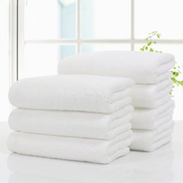 $enCountryForm.capitalKeyWord Australia - New Style 3 Pcs Set 34*75cm Solid Color Cotton Hand Towel for Home Hotel Towel Quick-Dry Soft Absorbent Bath Beach Towel Gift
