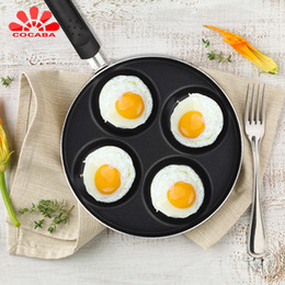Fried egg molds online shopping - Eco Friendly Cm Fry Eggs Pan Cooking Eggs Pan Breakfast Eggs Frying Pan Fried Egg Molds Stainless Steel Gas Cooker