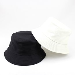 b9dff228 Designer Cotton Foldable Bucket Hat For Adults Mens Womens Plain Custom  Fishing Caps Spring Sunmmer Fall Blank Beach Sports Sun Visor